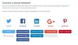 Buffer für das automatische Posten in mehreren Netzwerken gleichzeitig