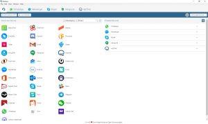 Mit Rambox werden viele Chat-Dienste in einer Applikation vereint. (quelle: Rambox)